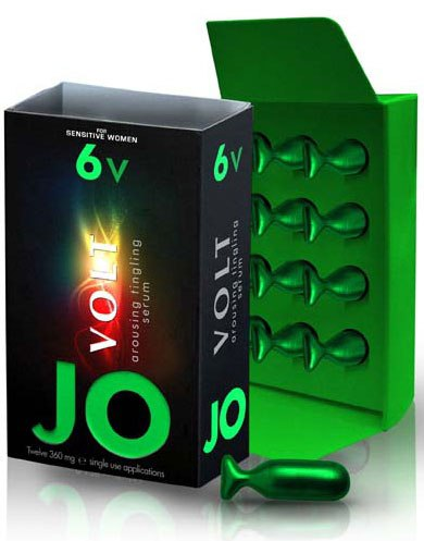 Возбуждающая сыворотка мягкого действия JO Volt 6v - 12 капсул