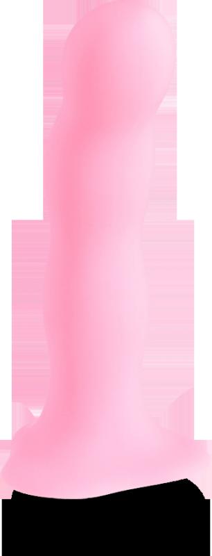Фаллоимитатор Bouncer на присоске для стимуляции точки G - розовый