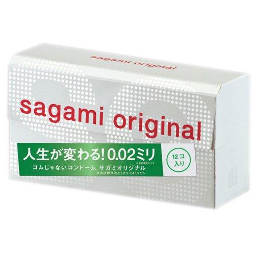 Презервативы Sagami Original 0,02 - 12 шт. (Sagami, Япония)