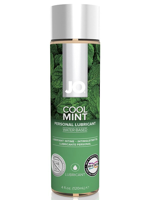 ��������� ��������� � �������� ���� JO Flavored Cool Mint � 120 ��