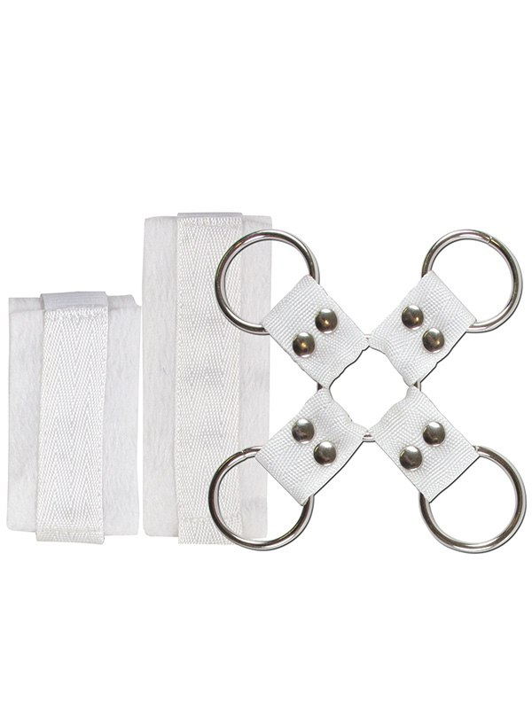 Фиксаторы для рук и ног Lover's Bondage Kit – белый