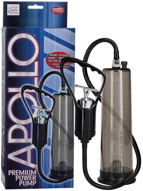 Вакуумная помпа Apollo Premium Power Pumps  черная