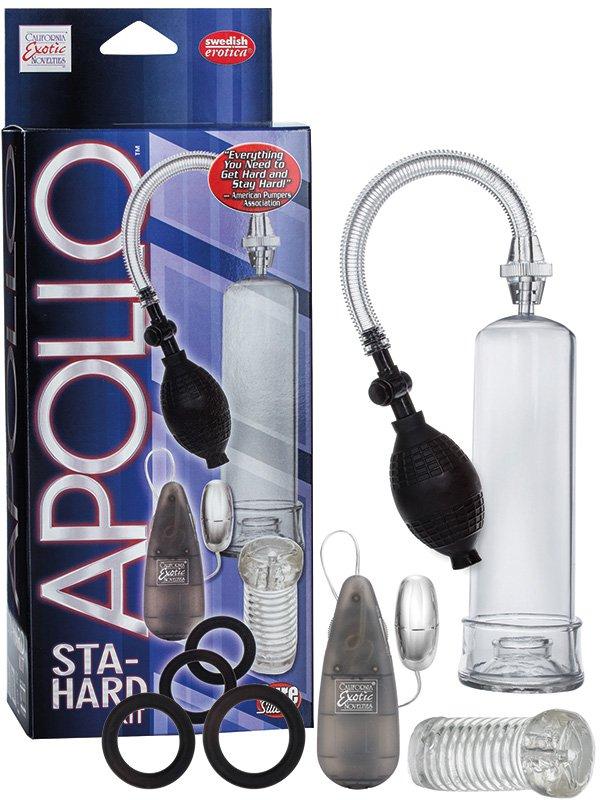 Вакуумная помпа  Apollo Sta-Hard с вибрацией – серый