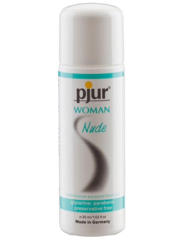 Лубрикант без добавок для чувствительной женской кожи Pjur® Woman Nude на водной основе – 30 мл