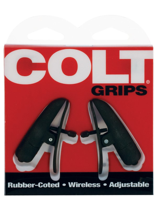 Вибрирующие зажимы для мужчин Colt Grips