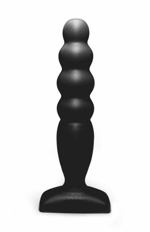 Анальный стимулятор Large Bubble Plug black 511518lola baile quintuplets розовый анальный стимулятор