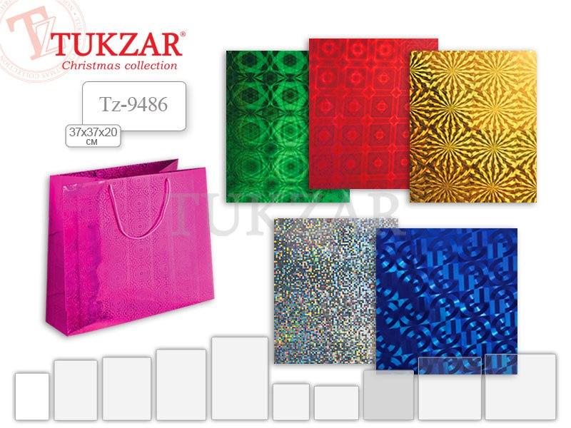 Эффектный подарочный пакет Tukzar