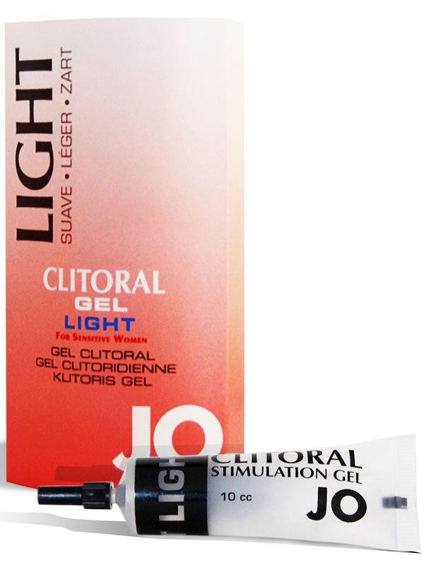 Возбуждающий гель для клитора легкого действия JO Clitoral Light - 16 мл