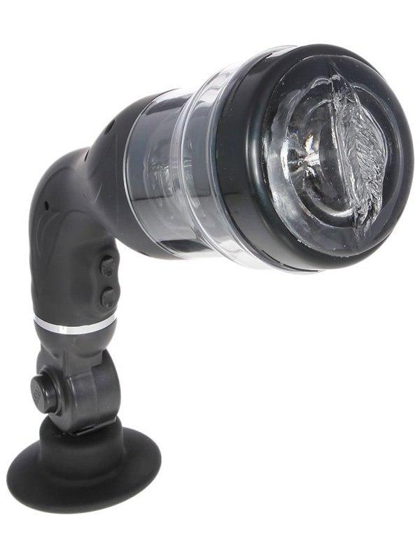 Ротатор для мастурбации Rotation Lover с поворотным креплением – черный