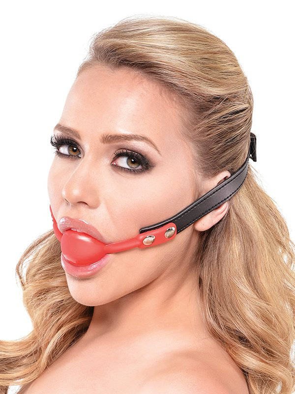 ����-����� Silicone Ball Gag � ������� (Pipedream, ���)