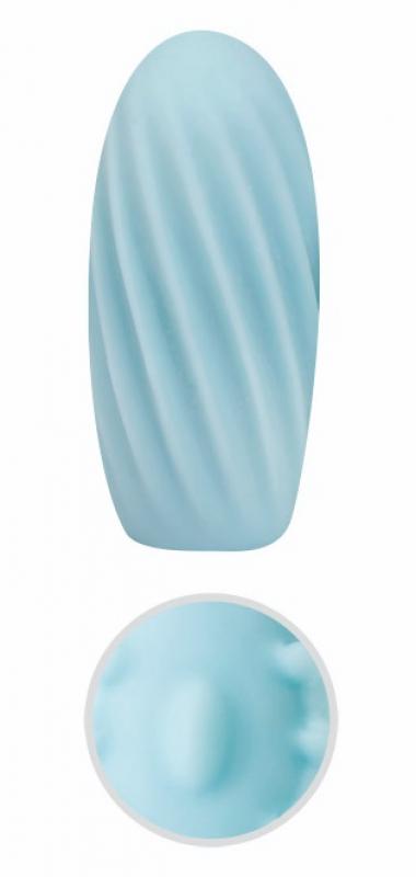 Эрекционное виброкольцо TOYFA с бусинами - фиолетовый