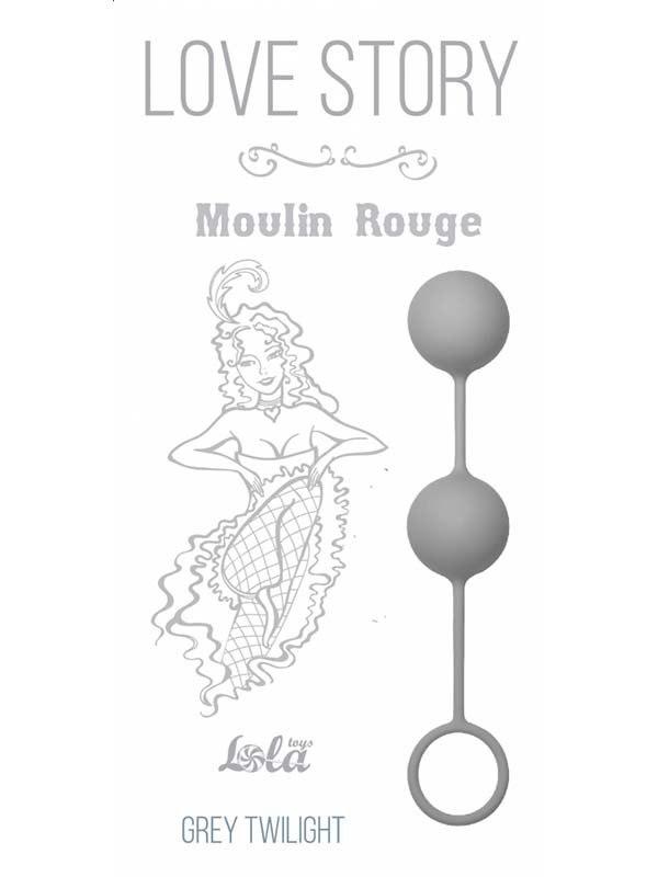 Вагинальные шарики Moulin Rouge со смещенным центром тяжести – серый