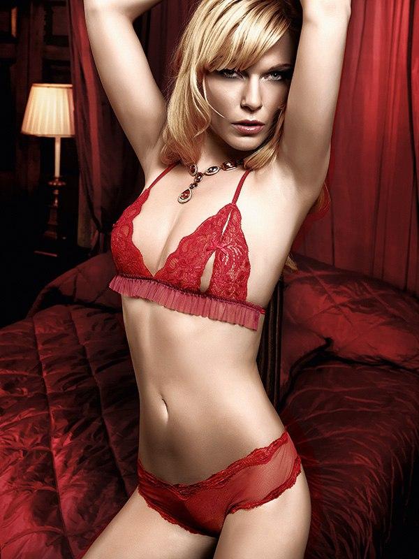 Сексуальный комплект Have Fun Princess  красный (Baci Lingerie, США)