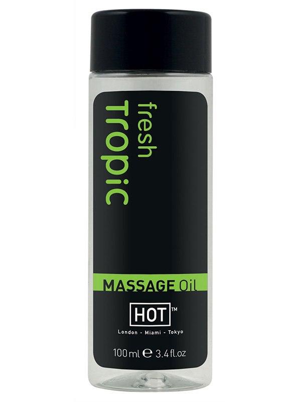 Массажное масло для тела Fresh Tropic с тропическим ароматом  100 мл