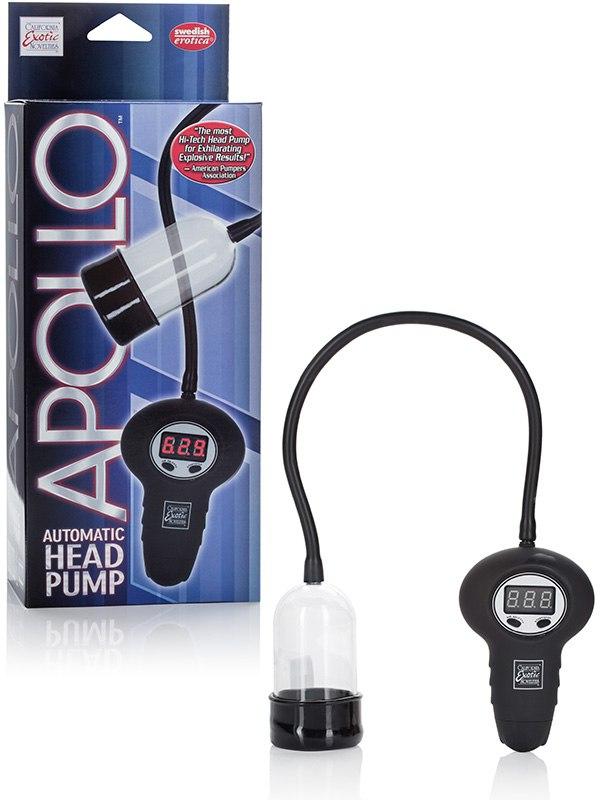 Помпа для головки Apollo Automatic Head Pump автоматическая – прозрачная