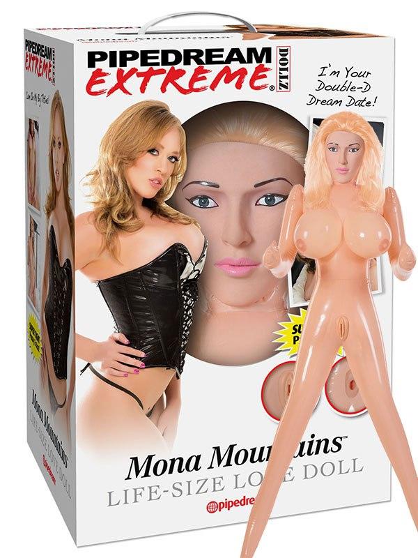 Кукла со вставками Mona Mountains блондинка
