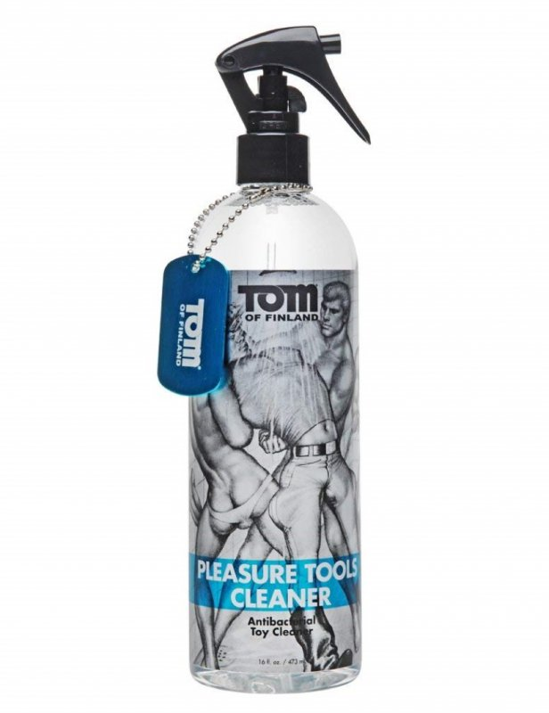 Антибактериальный спрей Tom of Finland Pleasure Tools Cleaner – 473 мл