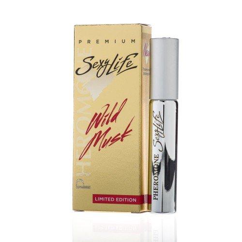 Мужские духи с феромонами Sexy Life Wild Musk №3 Shaik 77 - 10 мл
