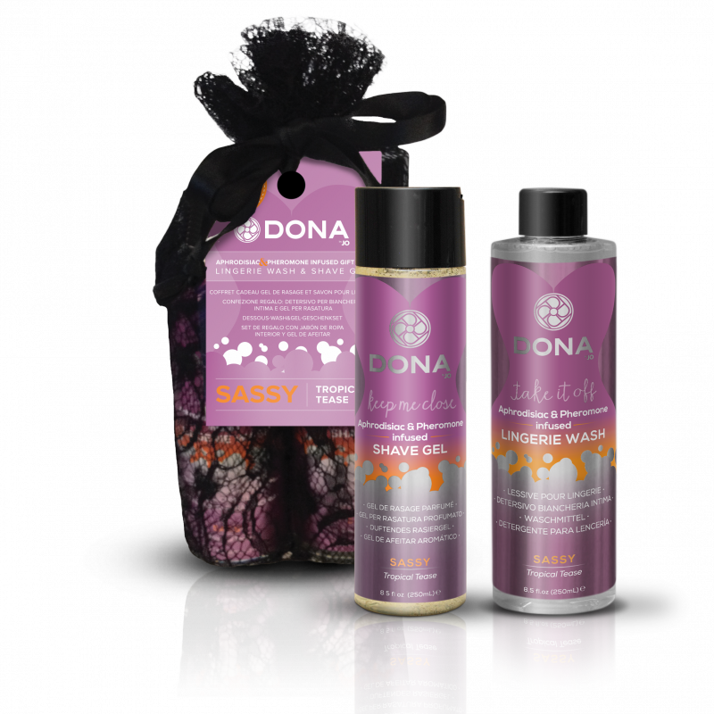 Подарочный набор Dona Be Sexy Sassy с феромонами – тропический от Он и Она