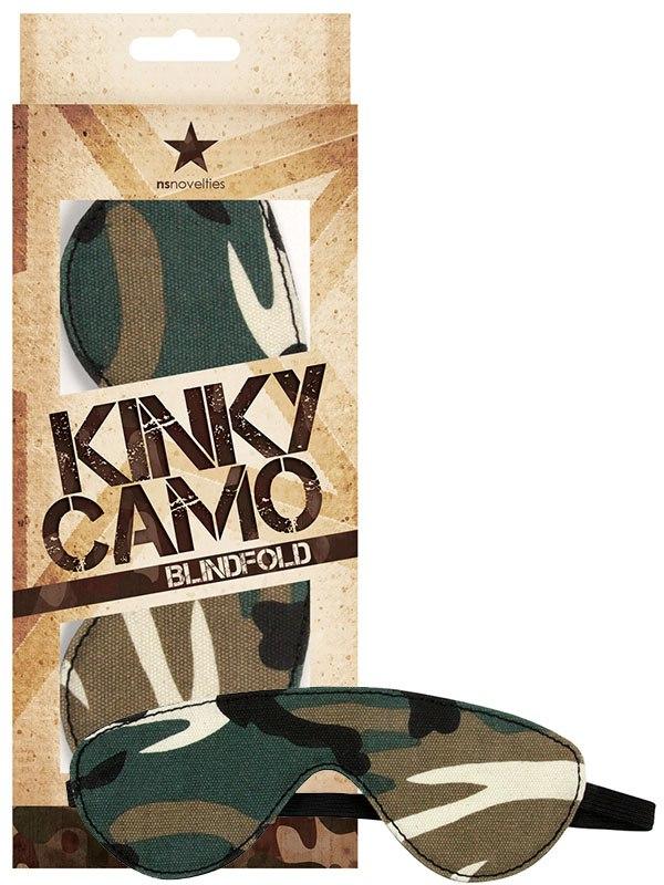 Маска на глаза Kinky Camo Blindfold