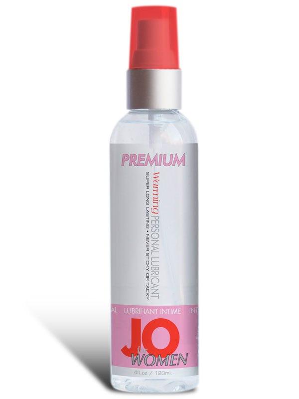 Возбуждающий лубрикант JO Premium Warming для женщин - 120 мл
