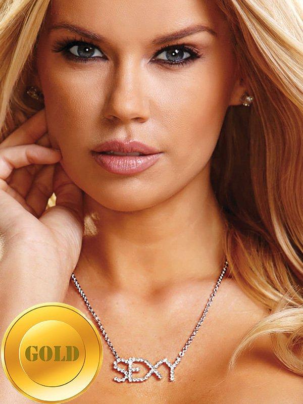 Цепочка с подвеской Ann Devine - Sexy Necklace – золотой