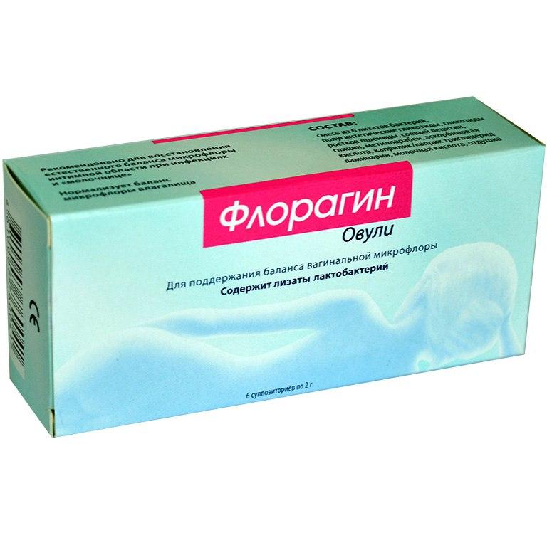 Флорагин Овули для женщин - 6 х 2 г