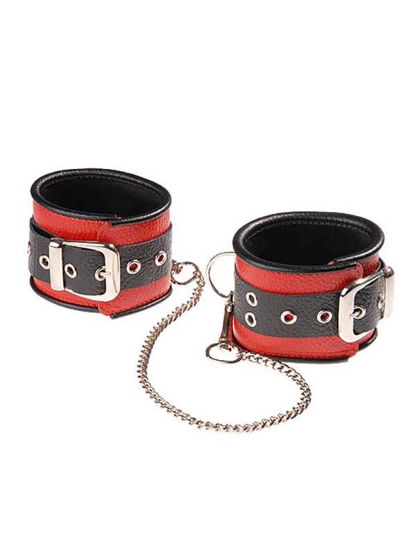 Наножники Sitabella со съемной цепочкой – черно-красный