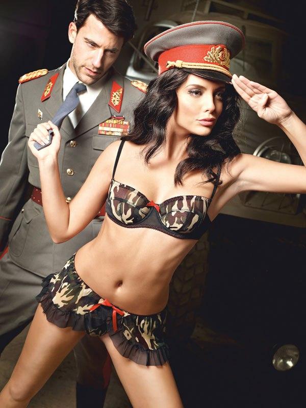 Эротический костюм Сексуальный Сержант - ML