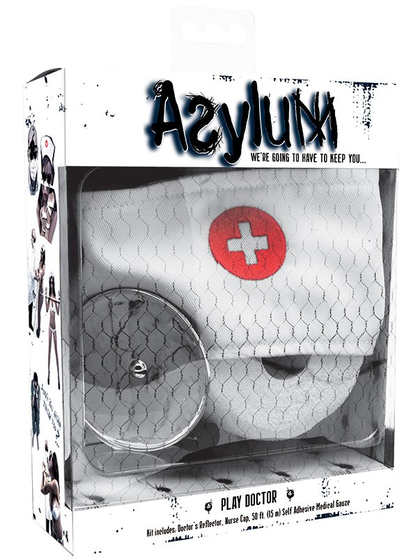Набор доктора Asylum Play Doctor Kit  белый (Topco Sales, США)