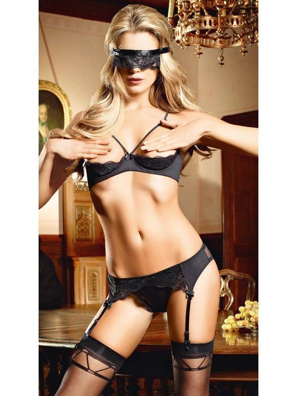�������� ������� ����� Love slave lingerie set - ������ (Baci Lingerie, ���)