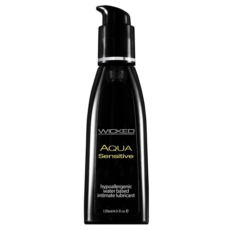 Мягкий лубрикант на водной основе Wicked Aqua Sensitive - 120 мл