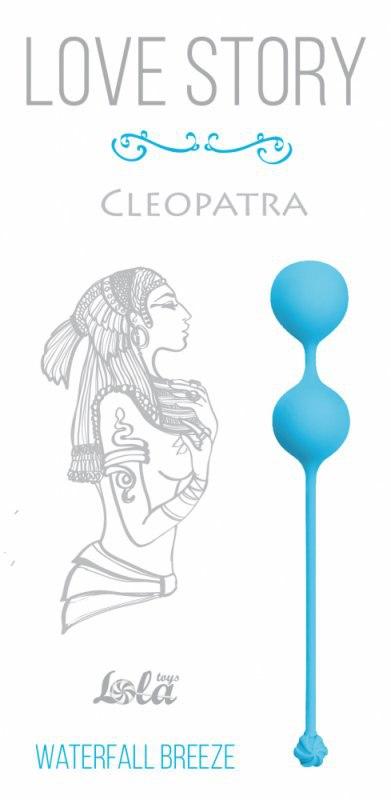 Вагинальные шарики Cleopatra Waterfall Breeze – синий
