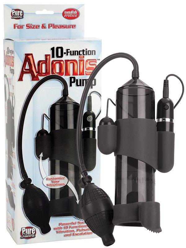 Вакуумная помпа Adonis с вибрацией – черный