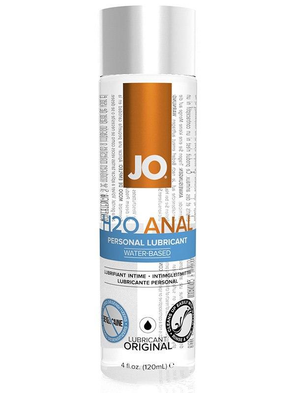 Универсальный анальный лубрикант JO H2O - 120 мл