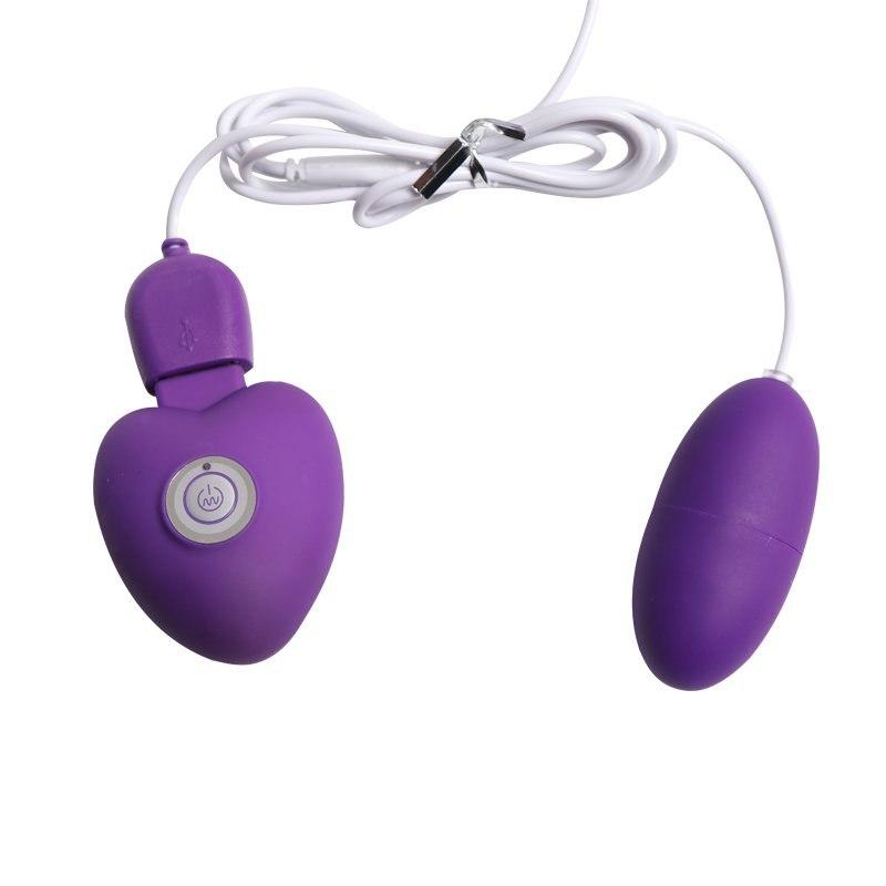 Перезаряжаемое виброяйцо RF - фиолетовый