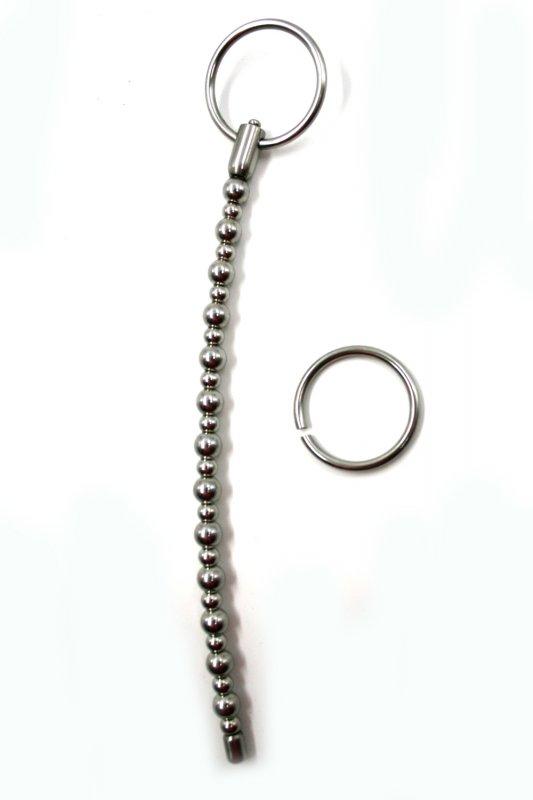 Гибкая уретральная струна из металла Kanikule metal - серебристый