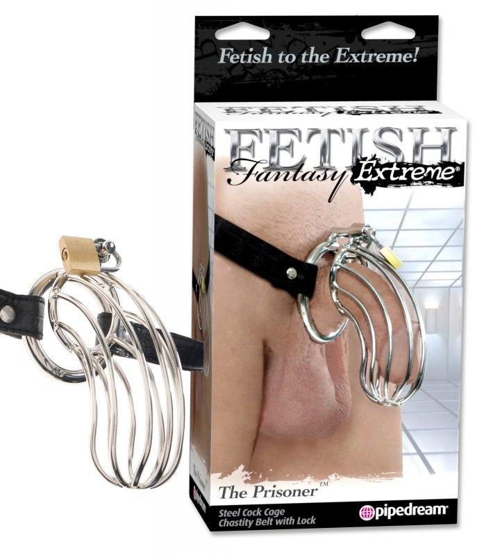 Пояс верности Fetish Fantasy Extreme The Prisoner - черный