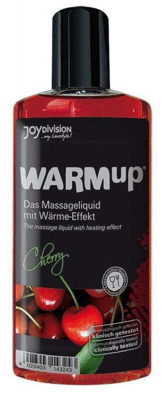 Съедобное разогревающее массажное масло WARMup Вишня - 150 мл
