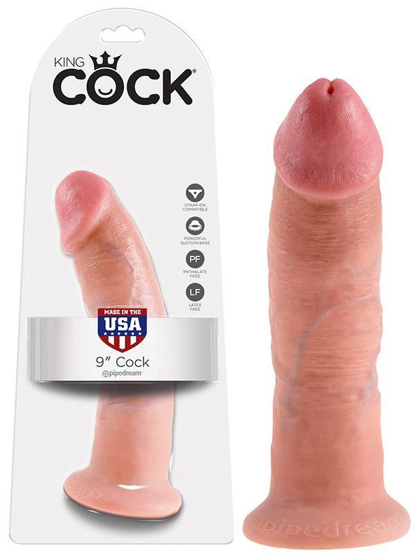 Реалистичный фаллоимитатор King Cock 9