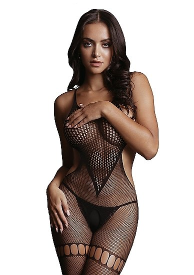 Кетсьюит (боди-комбинезон) Net High Neck Bodystocking