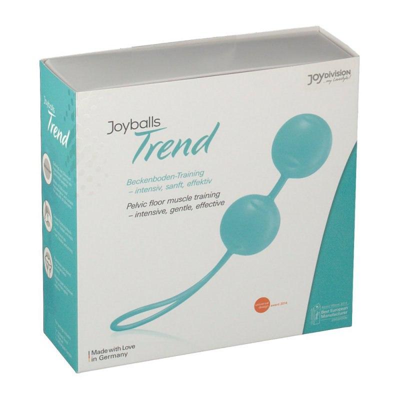 Вагинальные шарики Joyballs Trend со смещенным центром тяжести – мятный