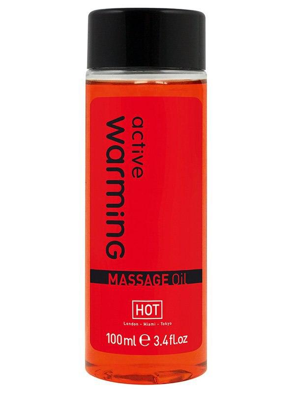 Массажное масло для тела Active Warming согревающее – 100 мл