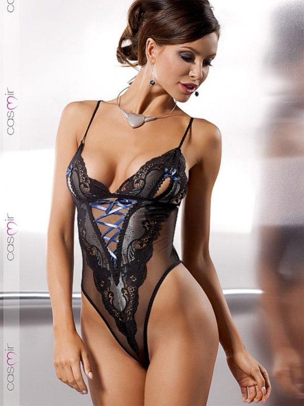 Боди Alexia (Casmir) из итальянского кружева - L/XL
