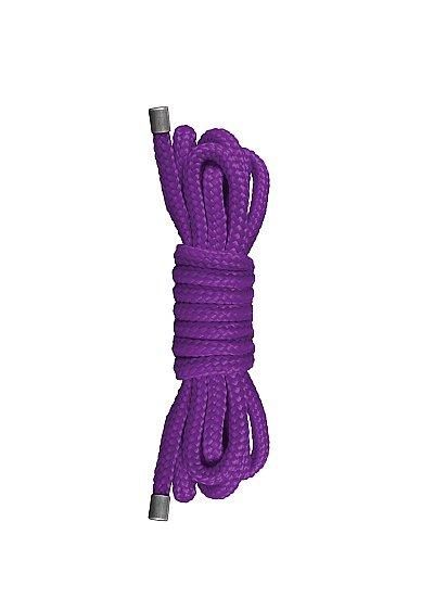 Веревка Japanese Mini Rope Ouch! 1,5 метра (фиолетовая)