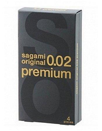Презервативы Sagami Original Premium 0,02 - 4 шт. (Sagami, Япония)