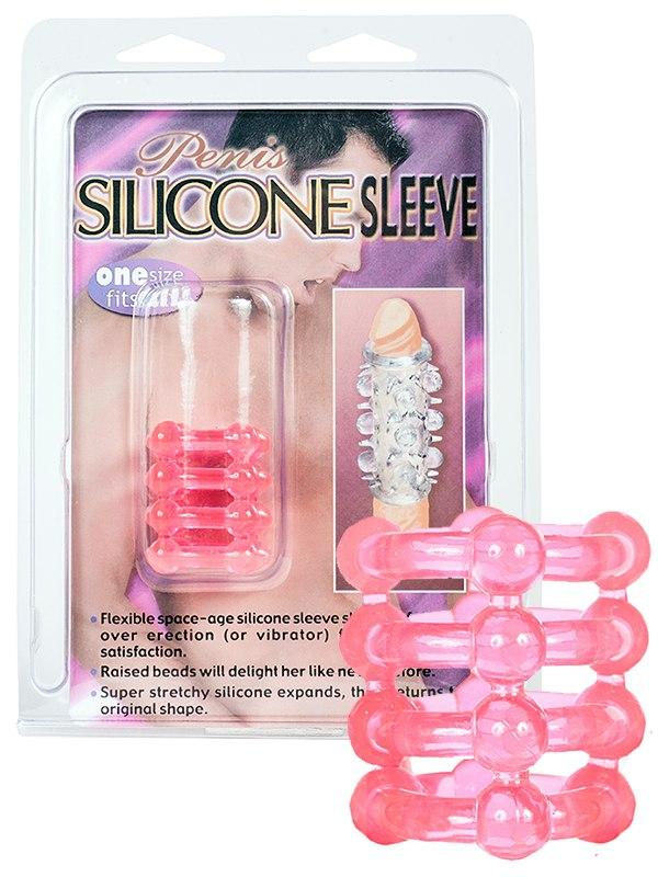 Насадка на пенис Silicon Ring – розовая