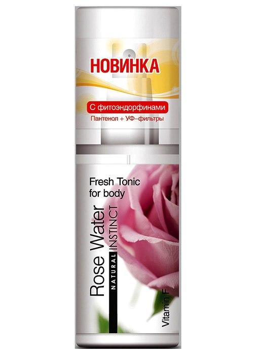 Здесь можно купить   Освежающий тоник для тела Natural Instinct - роза Интимная гигиена