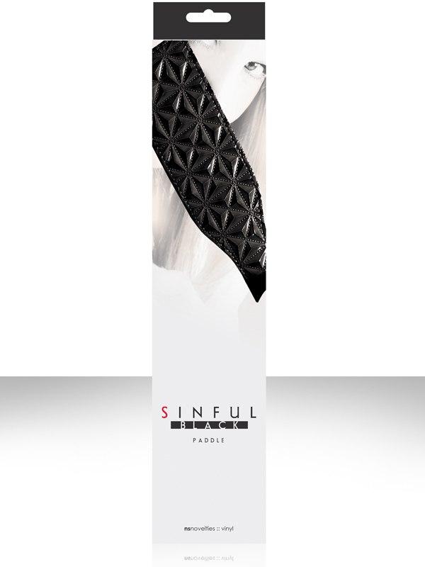 Шлепалка Sinful Paddle – черная