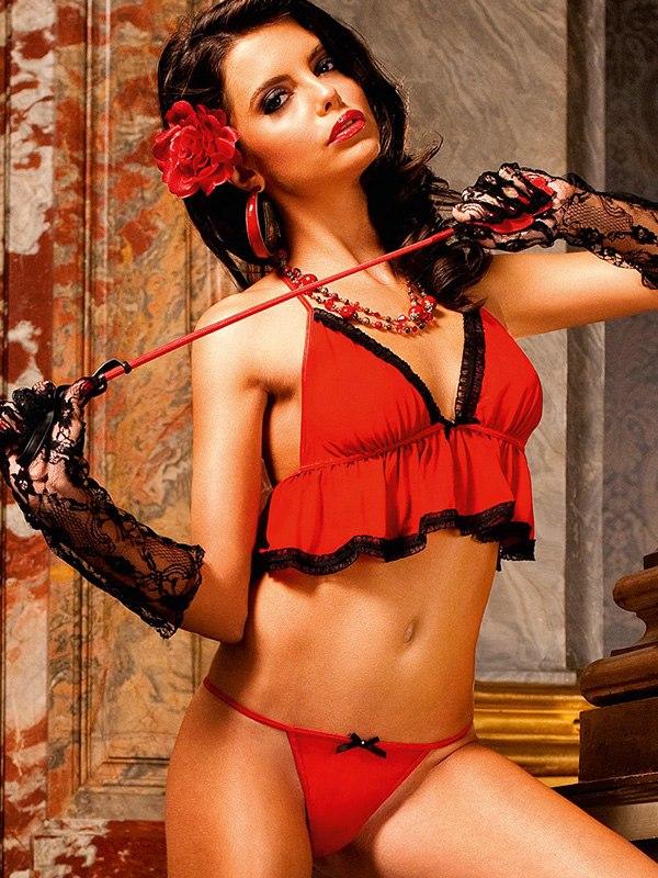 Красный комплект бэбидолл Spanish Dreams